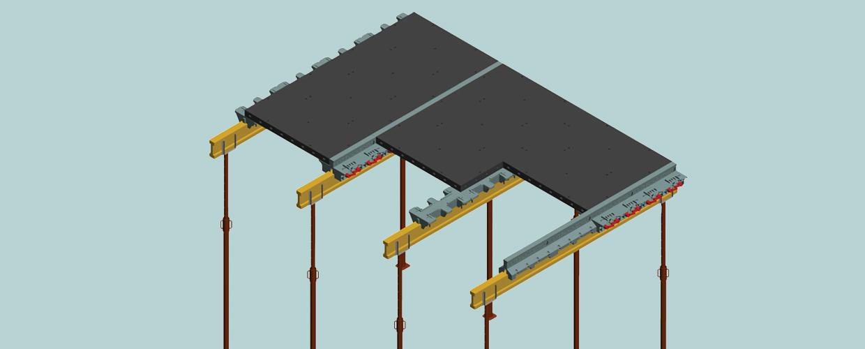 Geosky Deckenschalung aus ABS Kunststoff für Beton-Decken