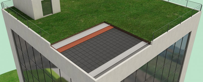 Sichere Realisierung von Dachgärten ohne Beschadigung der oberen Dachflächenabdichtungen